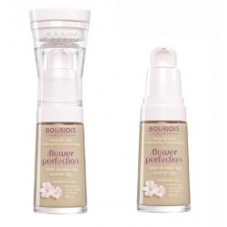 Крем тональный для лица выравнивающий Flower Perfection 55 SPF15 Темно-бежевый 30ml