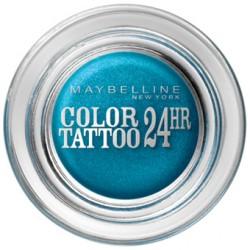 Тени для век кремово-гелевые 1-цветные Color Tattoo 24h 20 Бирюза навсегда 9ml