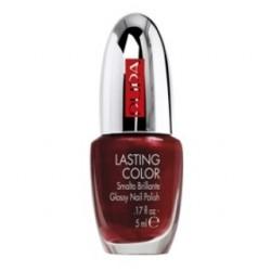 Лак для ногтей Lasting Color 605 Перламутровый вишнево-красный 5ml