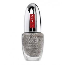 Лак для ногтей Lasting Color 802 Серебряный с блестками 5ml
