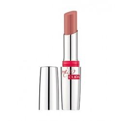 Помада для губ гелеобразная с эффектом влажных губ Miss Pupa 104 SPF15 Коричнево-кремовый 2.4ml