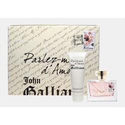 John Galliano Parlez-Moi D`Amour — набор (edt 50ml+b/lot 125ml) для женщин