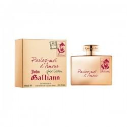 John Galliano Parlez-Moi D`Amour — туалетная вода 80ml для женщин Gold Edition