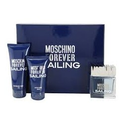 Moschino Forever Sailing — набор (edt 4.5ml+a/sh balm 25ml+sh/gel 25ml) для мужчин