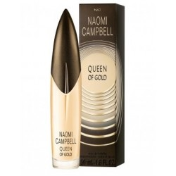 Naomi Campbell Queen Of Gold — туалетная вода 15ml для женщин