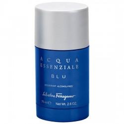 Salvatore Ferragamo Acqua Essenziale Blu — дезодорант стик 75ml для мужчин
