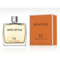 Sergio Tacchini With Style / туалетная вода 50ml для мужчин