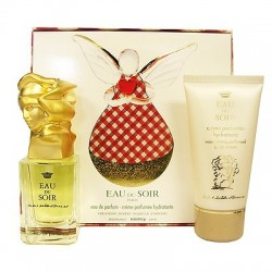 Sisley Eau du Soir — набор (edp 30ml+b/cream 50ml) для женщин