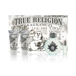 True Religion — набор (edp 100ml+edp 7.5ml+b/lot 90ml+sh/gel 90ml) для женщин