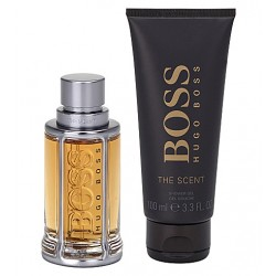 Hugo Boss The Scent / набор (100ml edt + 100ml sh/gel) для мужчин