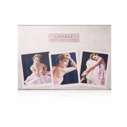Sarah Jessica Parker Lovely / набор (100ml edp + 200ml sh/g + 200ml b/lot) для женщин
