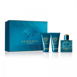 Versace Eros / набор (edt 5ml+a/sh 25ml+sh/gel 25ml) для мужчин