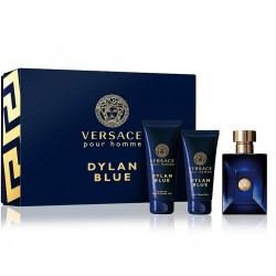 Versace Pour Homme Dylan Blue — мини набор (edt 5ml + sh/gel 25ml + ash/b 25ml) для мужчин