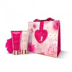 Набор Grace Cole Rose and Peony Pretty in Pink / для женщин с ароматом розы и пиона