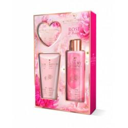 Набор Grace Cole Rose and Peony Blossoming Romance / для женщин с ароматом розы и пиона
