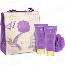 Набор Grace Cole Lavender and Honeysuckle Pristine / для женщин с ароматом лаванды и жимолости