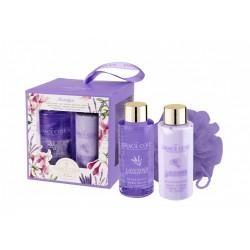 Набор Grace Cole Lavender and Honeysuckle Nostalгia / для женщин с ароматом лаванды и жимолости