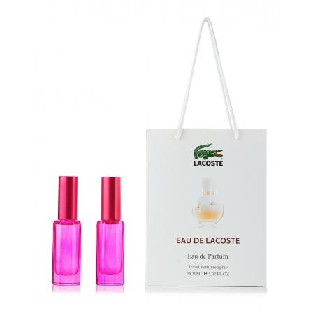 Lacoste Eau De Lacoste / парфюм-спрей в подарочной упаковке 40ml (2x20) для женщин