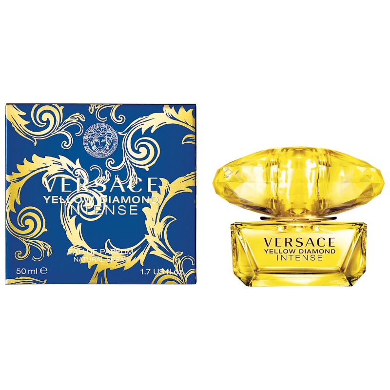 Versace Yellow Diamond Intense — парфюмированная вода 50ml для женщин