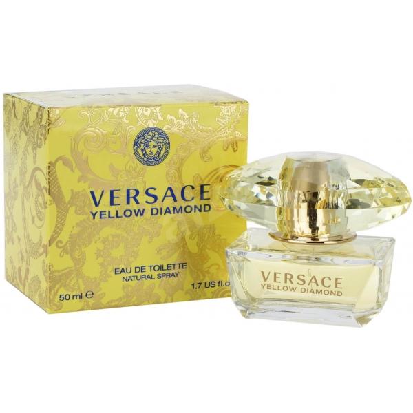 Versace Yellow Diamond — туалетная вода 50ml для женщин