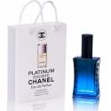 Chanel Egoiste Platinum — туалетная вода в подарочной упаковке 60ml для мужчин