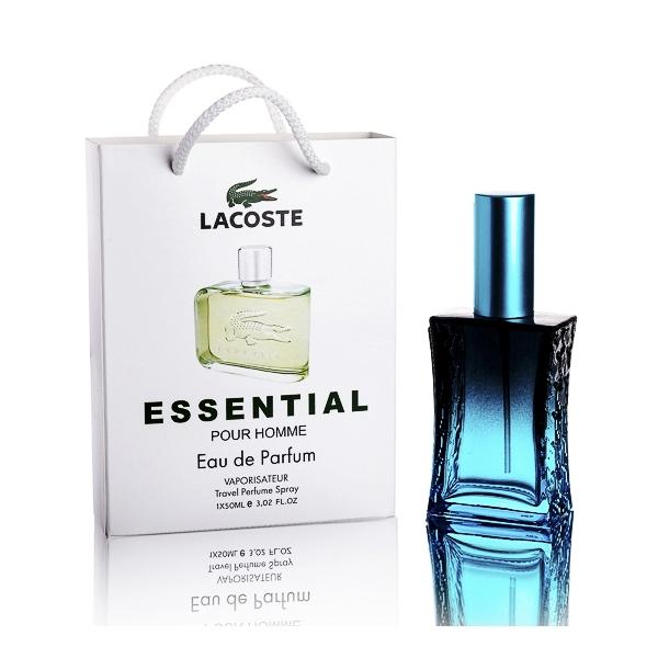 Lacoste Essential — туалетная вода в подарочной упаковке 60ml для мужчин