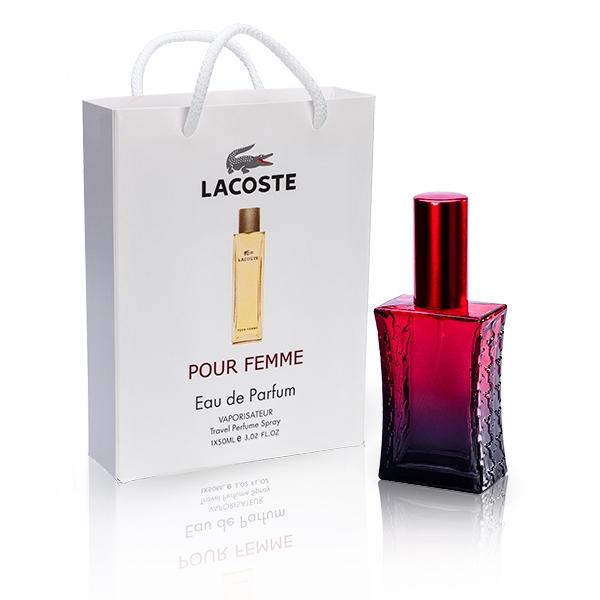 Lacoste Pour Femme / парфюмированная вода в подарочной упаковке 50ml для женщин