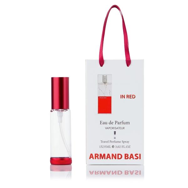 Armand Basi In Red — парфюм-спрей в подарочной упаковке 35ml для женщин