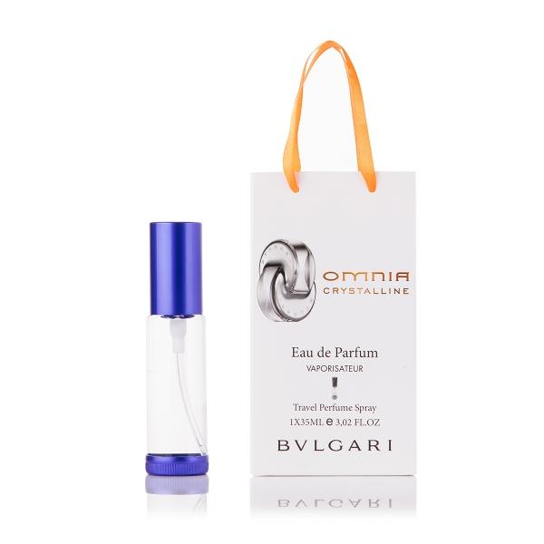 Bvlgari Omnia Crystalline — парфюм-спрей в подарочной упаковке 35ml для женщин