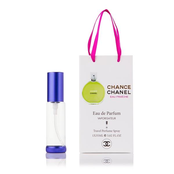 Chanel Chance Eau Fraiche — парфюм-спрей в подарочной упаковке 35ml для женщин