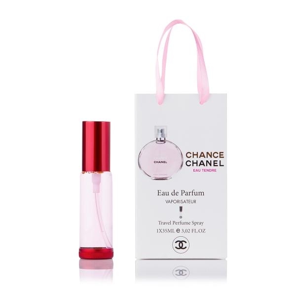 Chanel Chance Eau Tendre — парфюм-спрей в подарочной упаковке 35ml для женщин