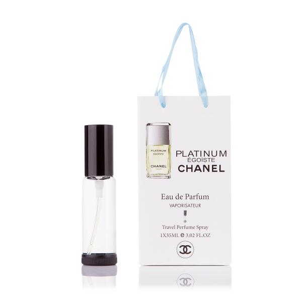 Chanel Egoiste Platinum — парфюм-спрей в подарочной упаковке 35ml для мужчин