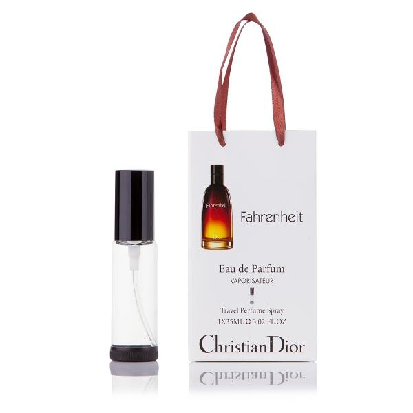 Christian Dior Fahrenheit — парфюм-спрей в подарочной упаковке 35ml для мужчин
