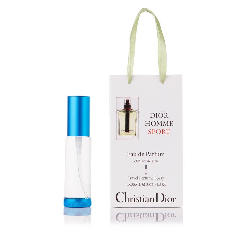 Christian Dior Homme Sport — парфюм-спрей в подарочной упаковке 35ml для мужчин