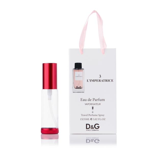 Dolce & Gabbana 3 L`Imperatrice — парфюм-спрей в подарочной упаковке 35ml для женщин