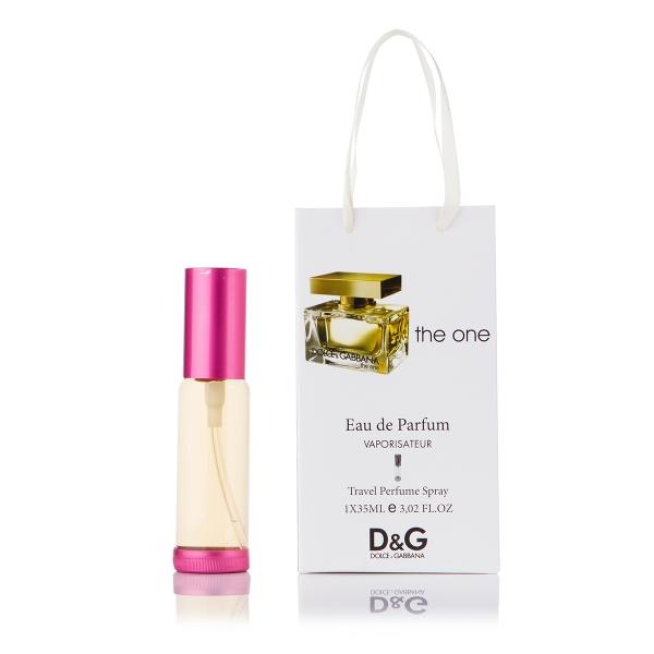 Dolce & Gabbana The One — парфюм-спрей в подарочной упаковке 35ml для женщин