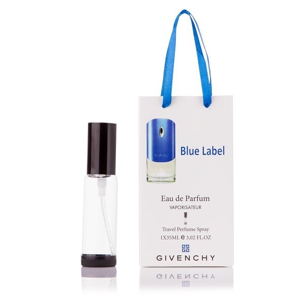 Givenchy Blue Label pour homme — парфюм-спрей в подарочной упаковке 35ml для мужчин