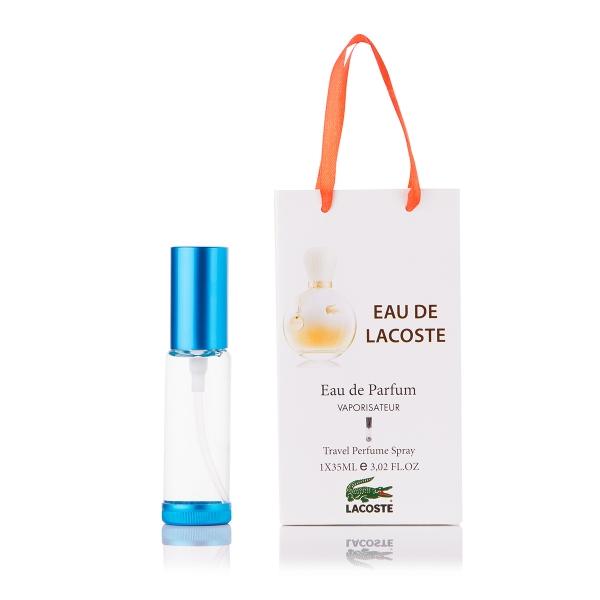 Lacoste Eau De Lacoste — парфюм-спрей в подарочной упаковке 35ml для женщин