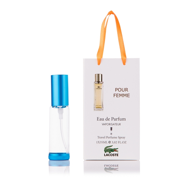 Lacoste Pour Femme — парфюм-спрей в подарочной упаковке 35ml для женщин