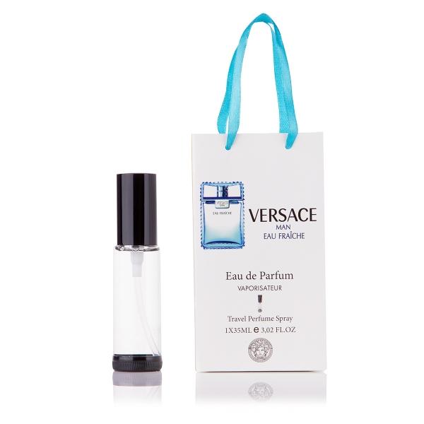 Versace Man Eau Fraiche — парфюм-спрей в подарочной упаковке 35ml для мужчин