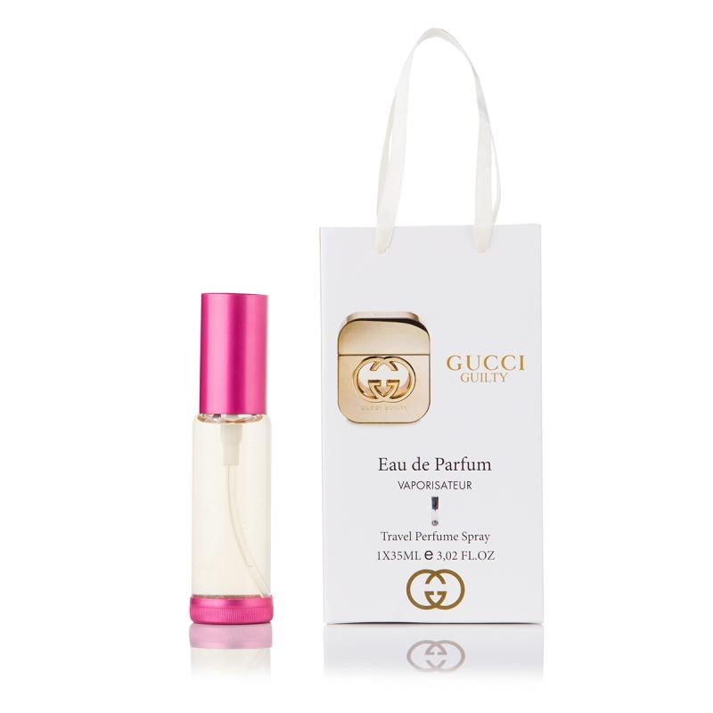 Gucci Guilty — парфюм-спрей в подарочной упаковке 35ml для женщин