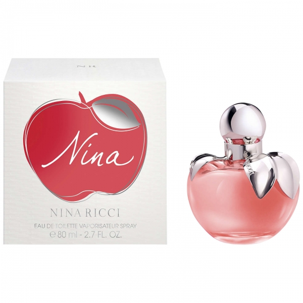 Nina Ricci Nina — туалетная вода 80ml для женщин