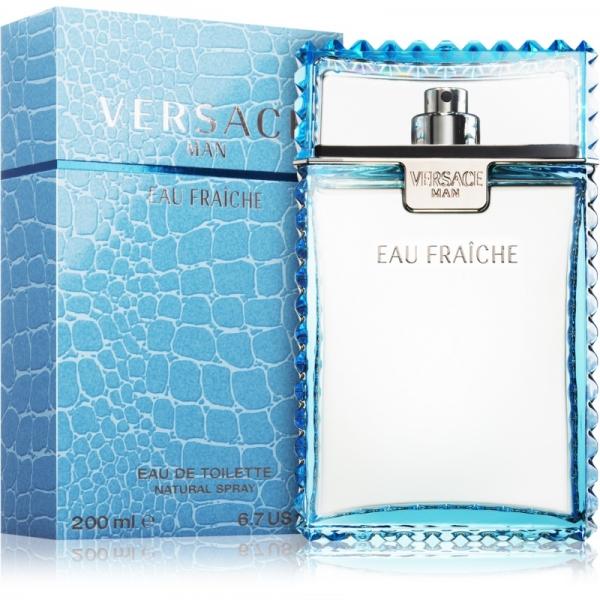 Versace Man Eau Fraiche — туалетная вода 200ml для мужчин