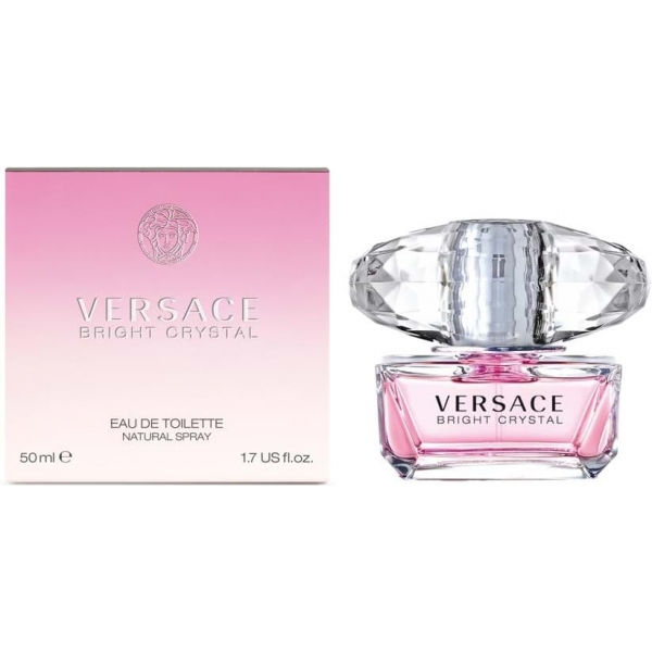 Versace Bright Crystal — туалетная вода 50ml для женщин