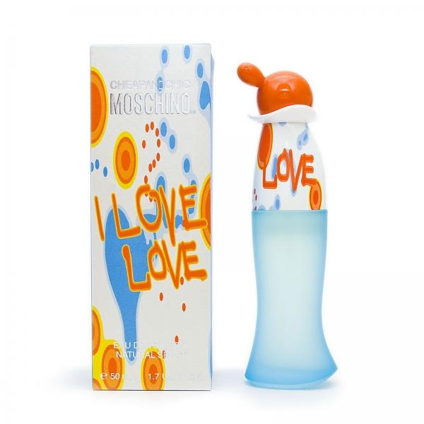 Moschino Cheap & Chic I Love Love — туалетная вода 50ml для женщин