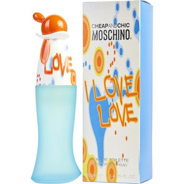 Moschino Cheap & Chic I Love Love — туалетная вода 100ml для женщин