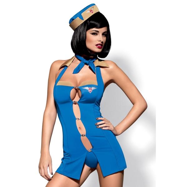 Костюм стюардессы для ролевых игр Air Hostess