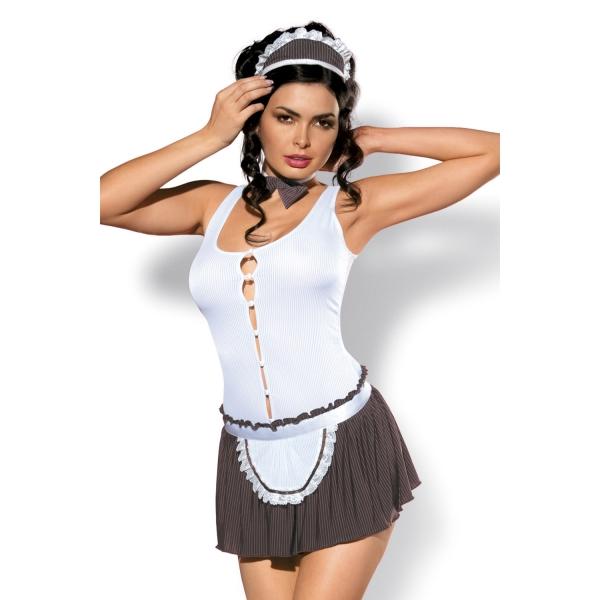 Эротический игровой костюм официантки Cookie
