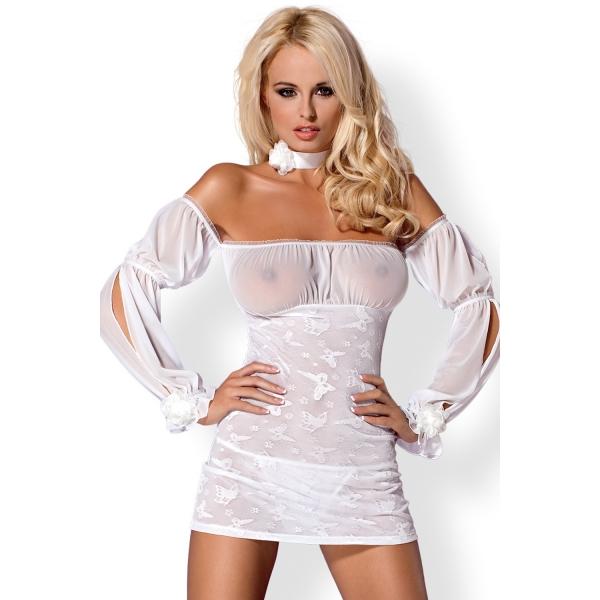 Сексуальная облегающая сорочка для невесты Mistia Chemise