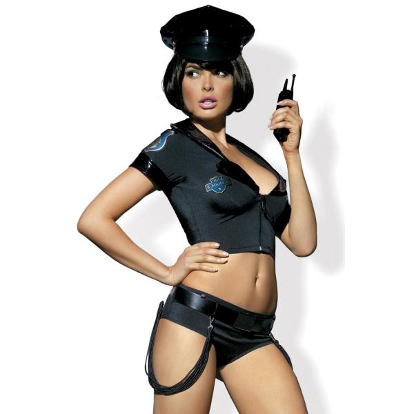 Эротический игровой костюм Police Set со стрингами